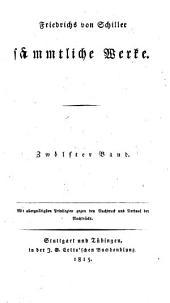 Sämmtliche Werke: Band 12