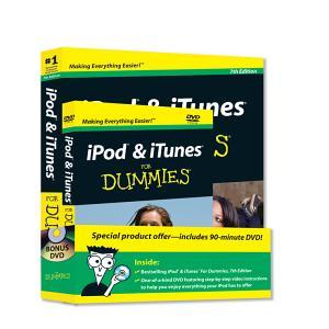 iPod   iTunes For Dummies  Book   DVD Bundle PDF