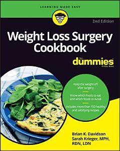 Weight Loss Surgery Cookbook For Dummies Book