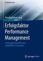 Erfolgsfaktor Performance Management PDF