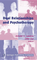 Dual Relationships And Psychotherapy PDF