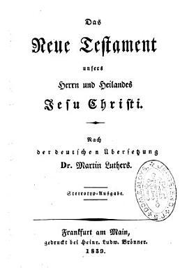 Das Neue Testament PDF