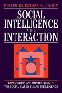 Social Intelligence and Interaction PDF