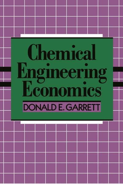Chemical Engineering Economics PDF