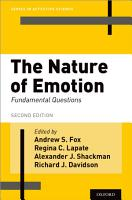 The Nature of Emotion PDF
