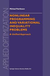 Nonlinear Programming and Variational Inequality Problems: A Unified Approach