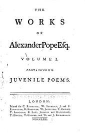 Juvenile poems