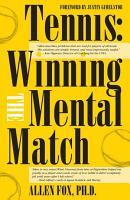 Tennis  Winning the Mental Match PDF