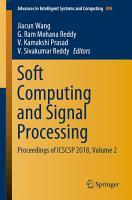 Soft Computing and Signal Processing PDF