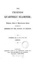 Friends  Quarterly Examiner PDF