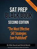 SAT Prep Black Book Book