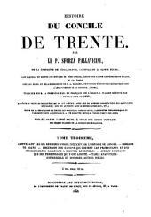 Histoire du Concile de Trente: Volume3