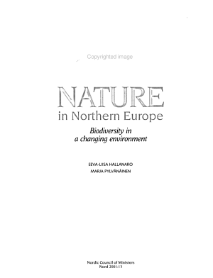 Nature in Northern Europe PDF