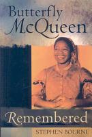 Butterfly McQueen Remembered PDF