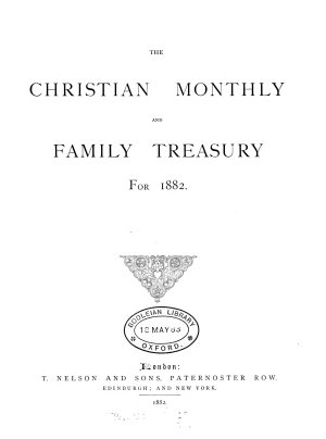 The Christian monthly and family treasury PDF