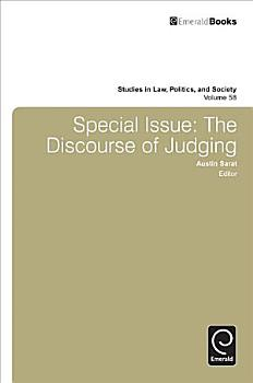 Special Issue  The Discourse of Judging PDF