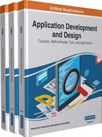 Application Development and Design  Concepts  Methodologies  Tools  and Applications PDF