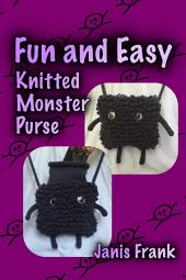 Fun and Easy Knitted Monster Purse