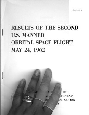 Results of the Second U.S. Manned Orbital Space Flight, May 24, 1962