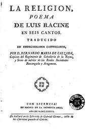 La Religion: poema de Luis Racine en seis cantos