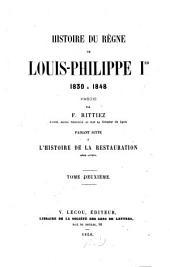 Histoire du règne de Louis-Philippe Ier: 1830 à 1848, Volume2