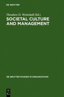 Societal Culture and Management