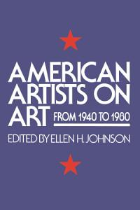 American Artists On Art Book