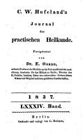 Journal der practischen Arzneykunde und Wundarzneykunde PDF