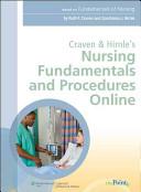 Craven and Hirnle s Nursing Fundamentals and Procedures Online