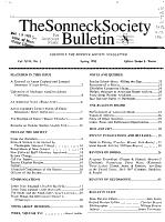 The Sonneck Society Bulletin PDF