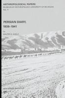 Persian Diary  1939 1941 PDF