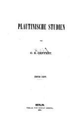 Plautinische Studien: Bände 1-2