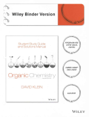 Student Study Guide and Solutions Manual to accompany Organic Chemistry 2e Binder Ready Version PDF
