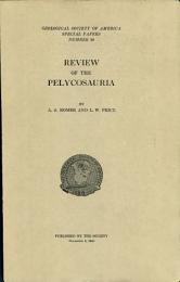 Review of the Pelycosauria