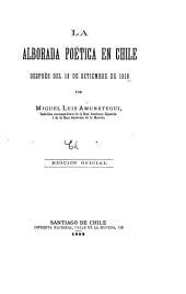 La alborada poética en Chile después del 18 de setiembre de 1810