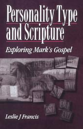 Personality Type & Scripture: Mark