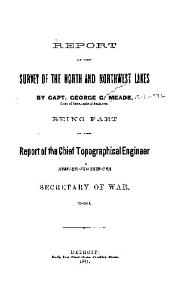Report of the survey of the north and northwest lakes