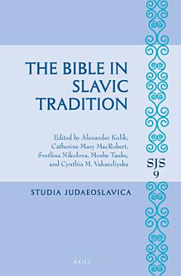 The Bible in Slavic Tradition PDF