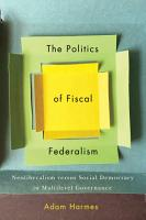 The Politics of Fiscal Federalism PDF