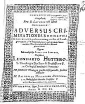 Hyperaspistēs elenktikos pro Luthero et libro Concordiae: adversus criminationes Rodolphi Hospiniani