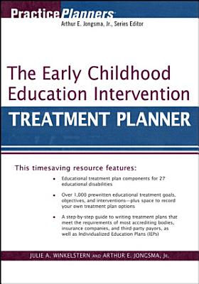 The Early Childhood Education Intervention Treatment Planner
