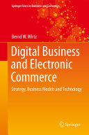 Digital Business and Electronic Commerce