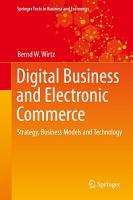 Digital Business and Electronic Commerce PDF