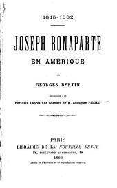 Joseph Bonaparte en Amérique