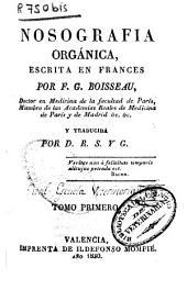 Nosografía orgánica: Volumen 1
