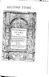 Les vrais pourtraits et vies des hommes illustres grecz, latins et payens, recueilliz de leur tableaux (etc.)