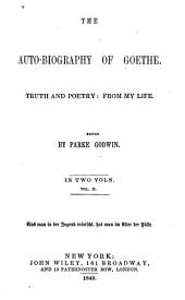 The auto-biography of Goethe: Volume 2