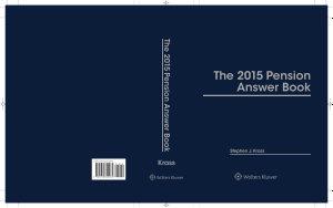 Pension Answer Book 2015e
