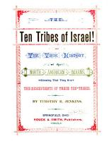 The Ten Tribes of Israel PDF