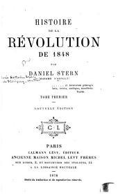 Histoire de la révolution de 1848: Volume1